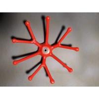 Πλαστικό ανταλλακτικό κερφαλής βέργας IDEAL X36 τύπου αχινός.